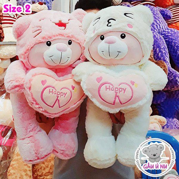 Size 2 với combo hồng và trắng